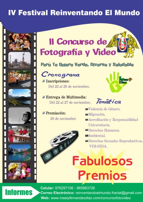 II Concurso de Fotografía y Video