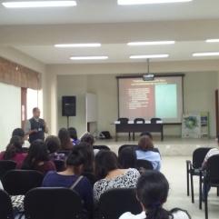 Ponencia de docente en temática de Historia Ambiental.
